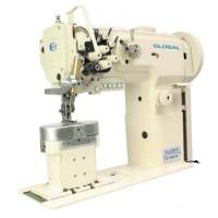 Двухигольная колонковая промышленная швейная машина Global LP 1646-XLH