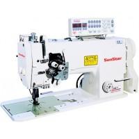 2-х игольная швейная машина челночного стежка SunStar 797-7S-AK (4,8мм) (3/16)