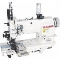 2-х игольная швейная машина челночного стежка Golden Wheel CS-8162BT-2A