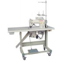 Прямострочная промышленная швейная машина с ножом обрезки края материала GOLDEN WHEEL CS-5200-BT-F