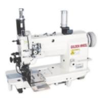 Двухигольная машина с автоматическими функциями для обработки карманов GOLDEN WHEEL CS-8162BT-2A