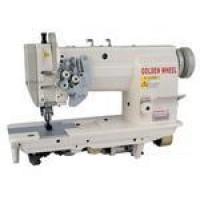 Двухигольная промышленная швейная машина GOLDEN WHEEL CS-8165S